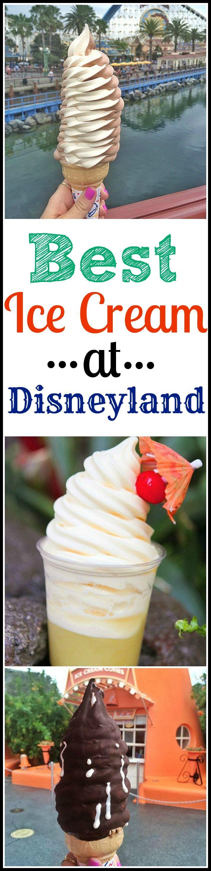 The Best Ice Cream at Disneyland Resort! #disneyland #icecream More Disneyland Resorts, Disneyland Thanksgiving, Disneyland 2017, Disney Dining, Disneyland Trips, Beautiful Places, Ice Cream, Roads Trips, Disneyland Icecream