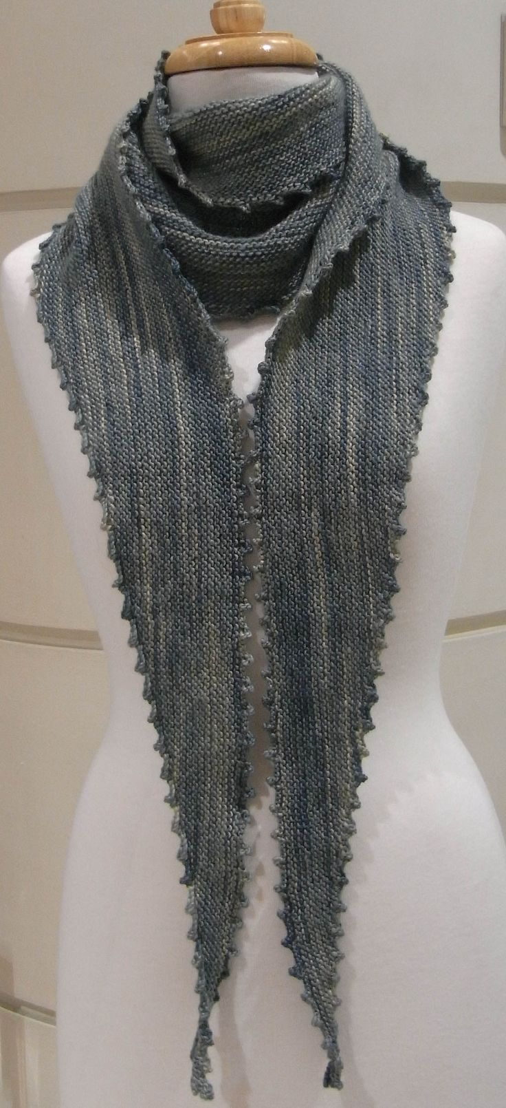 Morris and Sons - Picot Edge Scarf Pattern
