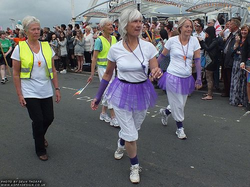 Brighton Gay Pride 2012 - A great day out with friends old and new