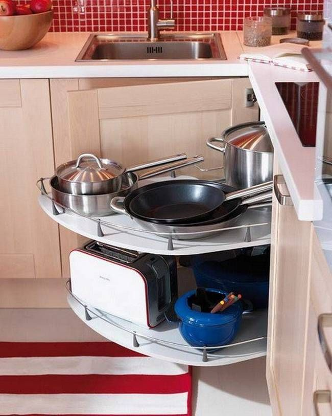 41 useful kitchen cabinets for storage