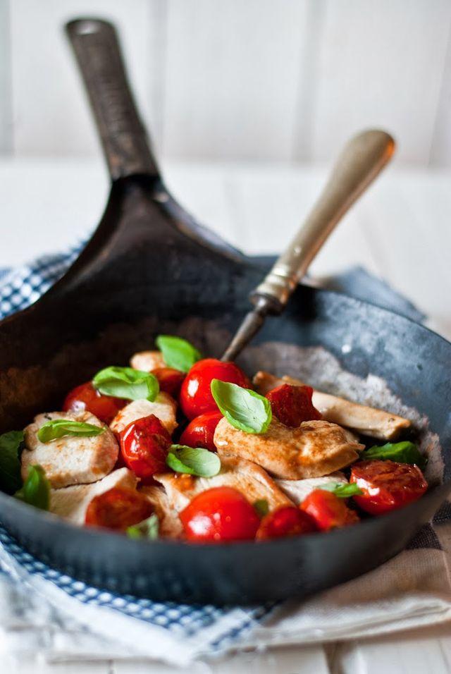 Kuřecí prsa s balzamikovými rajčátky   Sweet Pixel blog   Bloglovin'