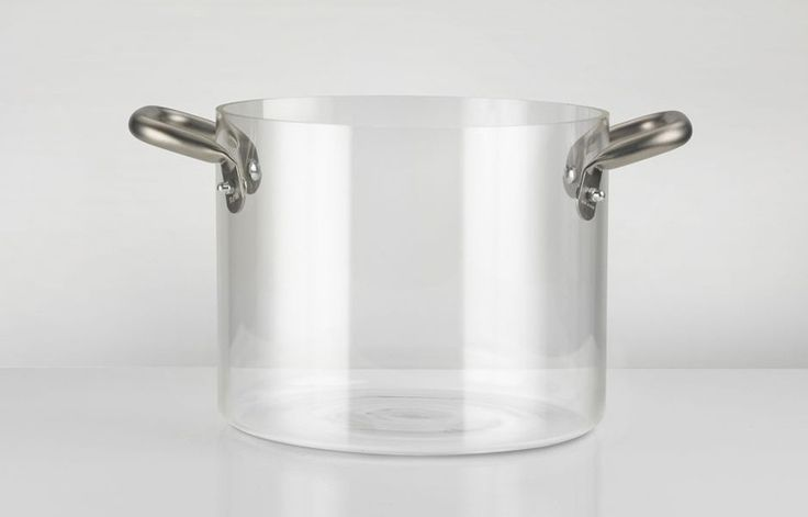 Glass Pot (Pentola In Vetro), designed by Massimo Castagna for KNIndustrie. Get The Originals at www.2ndfloor.gr