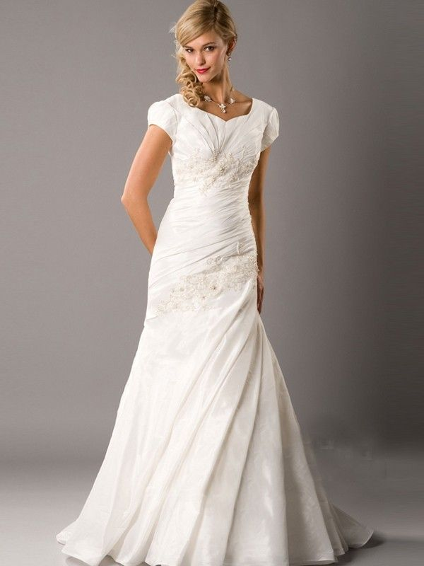 Extraordinary modest lace wedding gowns ideas excellent for Modest lace wedding dresses