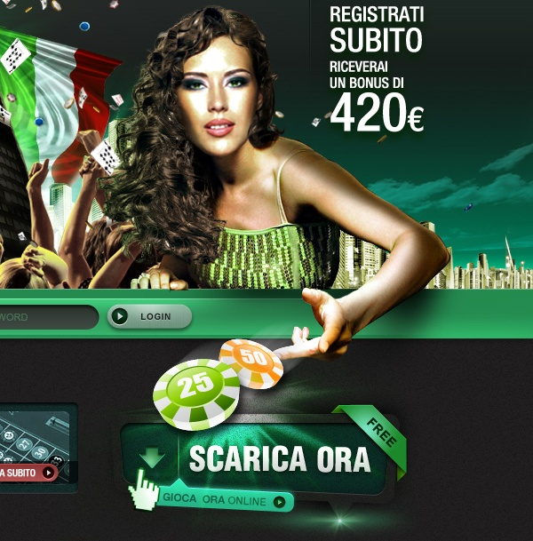 CASINO ITALIA by Fabio Minerva, via Behance