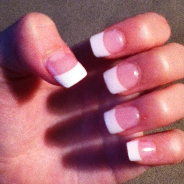 Acrylic nails :)