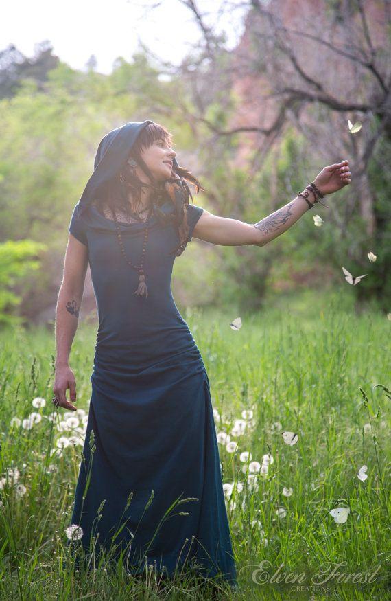 Kaleidoskop Dreamcatcher Kleid  Casual Version  Elfen Wald   Etsy
