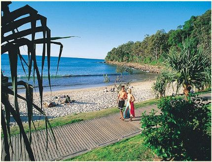 Noosa Beach - Sunshine Coast - Australia