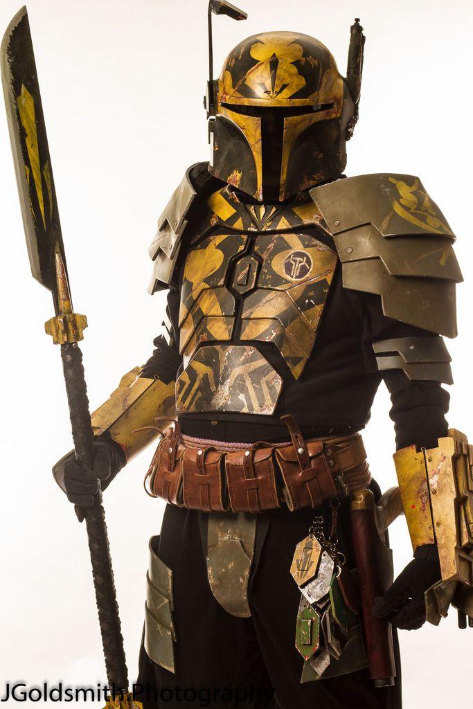 Layered plates, color pattern, trophies. Vor'en Kelborn- Heavy weapons master