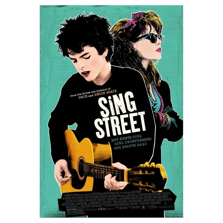 Sing Street (Blu-ray), Movies