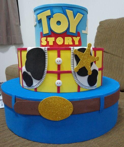 Bolo Cenográfico/Falso do tema Toy Story | Casanelli Artes | Elo7
