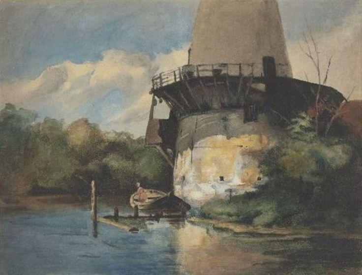 Hendrik Johannes Weissenbruch - Afgeknotte molen