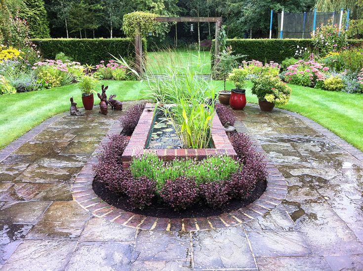 183 best images about pond on pinterest gardens garden for Garden pond raised
