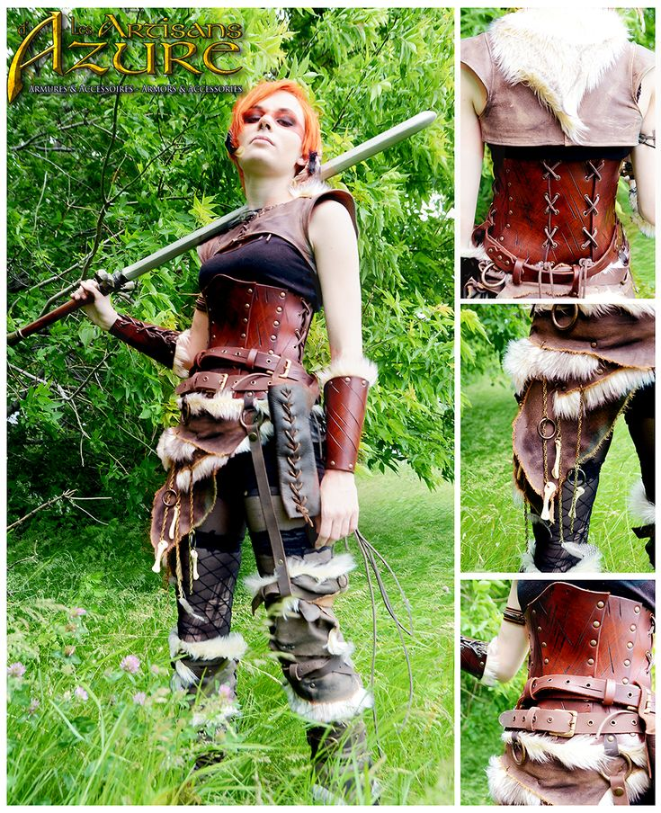 Primal Warrior By ArtisansdAzure Female Barbarian Fighter