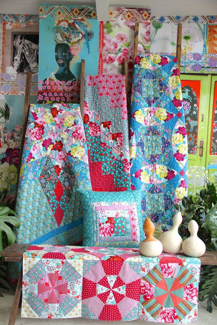 Amy Butler Splendor Quilts