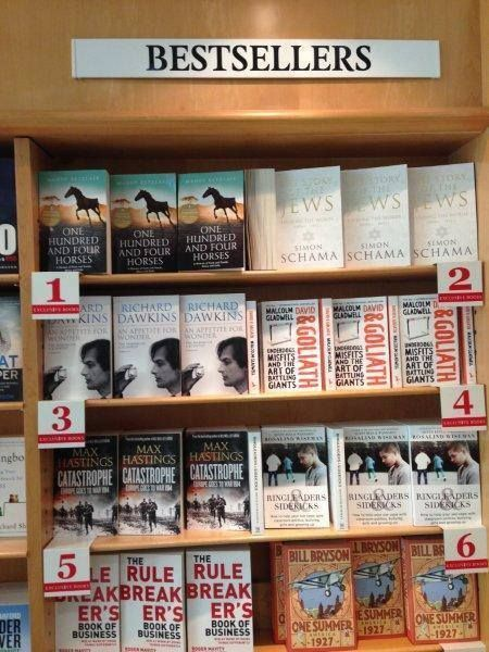 Number 1 at Exclusive Books 104 Horses by Mandy Retzlaff