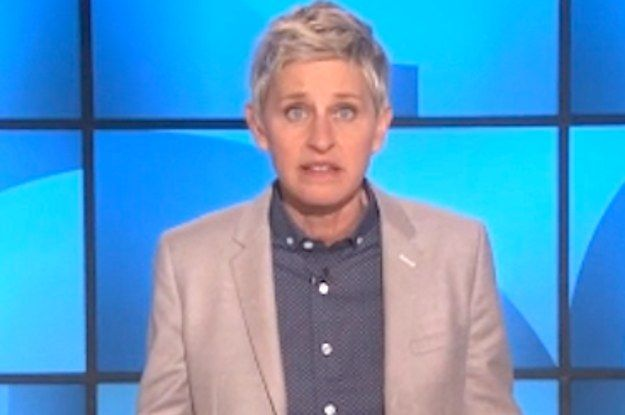 """Ellen DeGeneres Shut Down An Anti-Gay Pastor In The Most Amazing Way BuzzFeed The pastor and author had written that she helps to promote a """"gay agenda."""" And she responded in classic Ellen fashion...."""