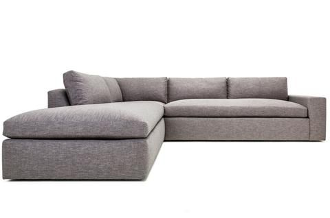 Hewitt - Custom Affordable Mid Century Modern Sectional from Clad Home