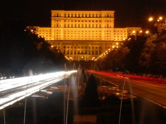 Casa Poporului in Boekarest, Roemenië