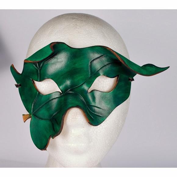 Leather POISON IVY Mask