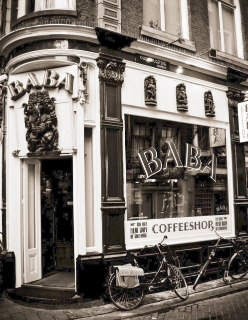 Amsterdam Coffee shop a long time ago, i was there a few months ago and it is now a DELICIOUS pastry shop.