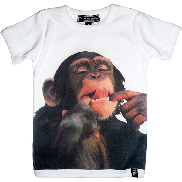 And The Same To You (Monkey) tee