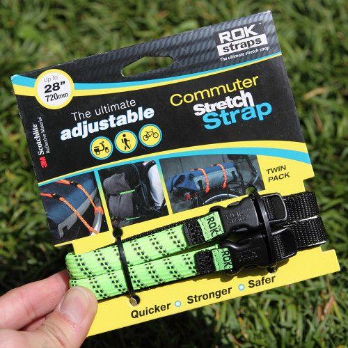 *ROK STRAPS* adjustable stretch straps (neon green) - EVERYDAY BIKE GOODS - BICYCLE / 自転車・パーツ | BLUE LUG ONLINE STORE