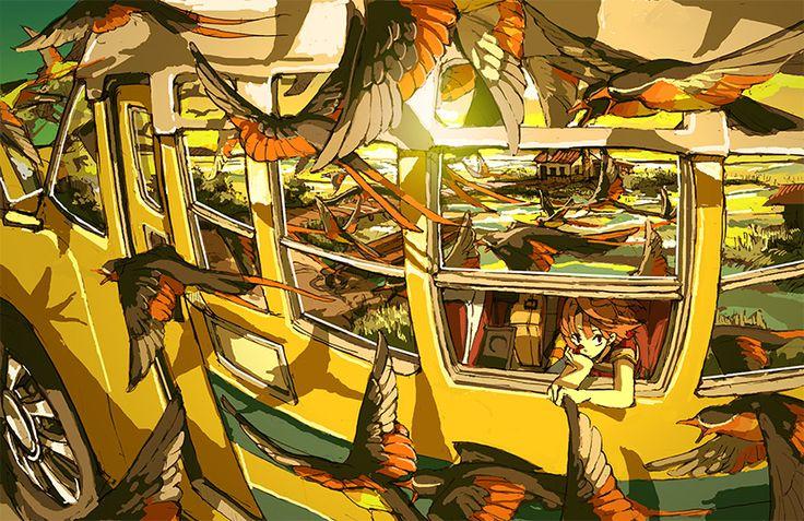 Fuck Yeah Illustrative Art! • lllea: Geco Hirasawa