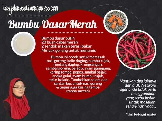 Bumbu dasar merah #TipsRamadhan