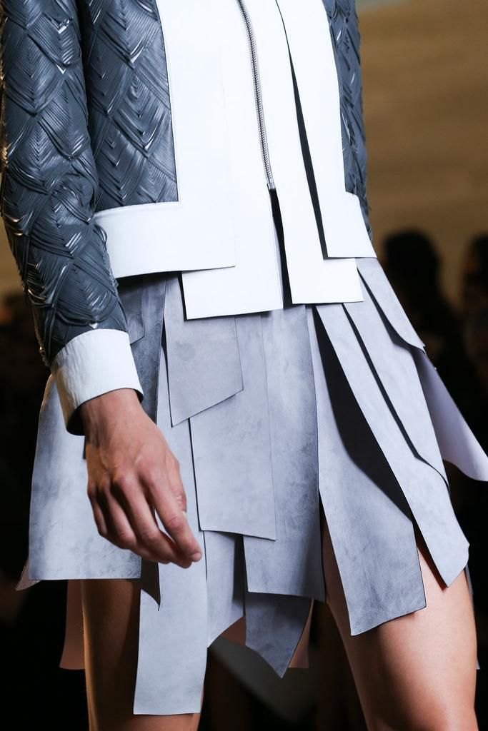 Fendi Spring 2015 Ready-to-Wear - Details - Gallery - Look 1 - Style.com