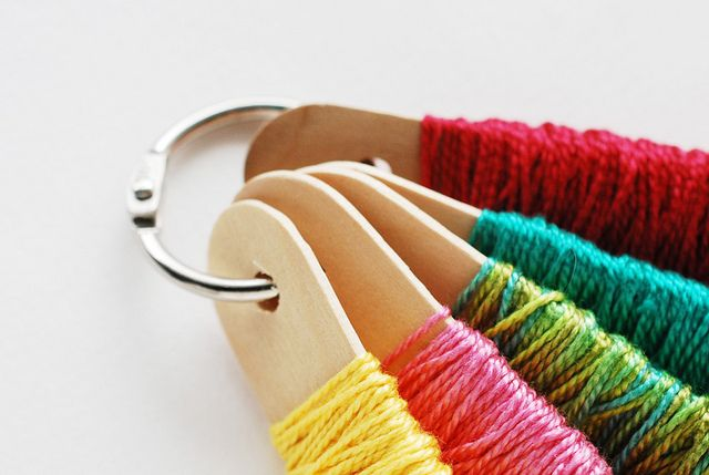 Best ideas about embroidery floss storage on pinterest
