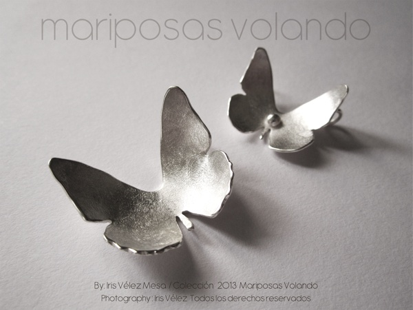 Mariposas Volando by Iris Velez Mesa, via Behance