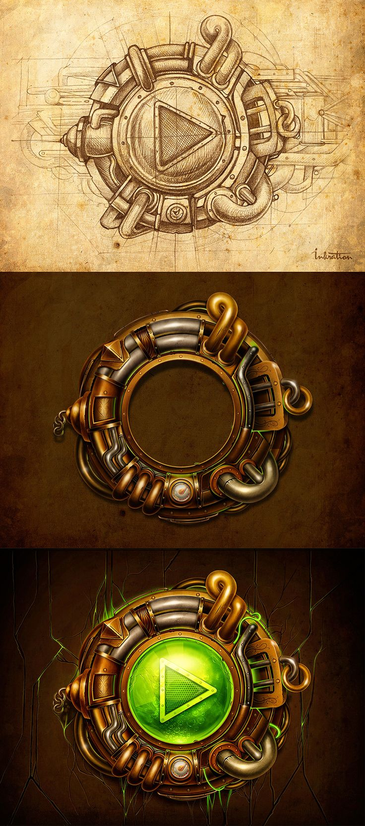 Hi everyone! We've just finished new element for steampunk project. Everything will start here)