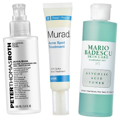 For treating acne, these are the glycolic acid-infused products to stock up on.
