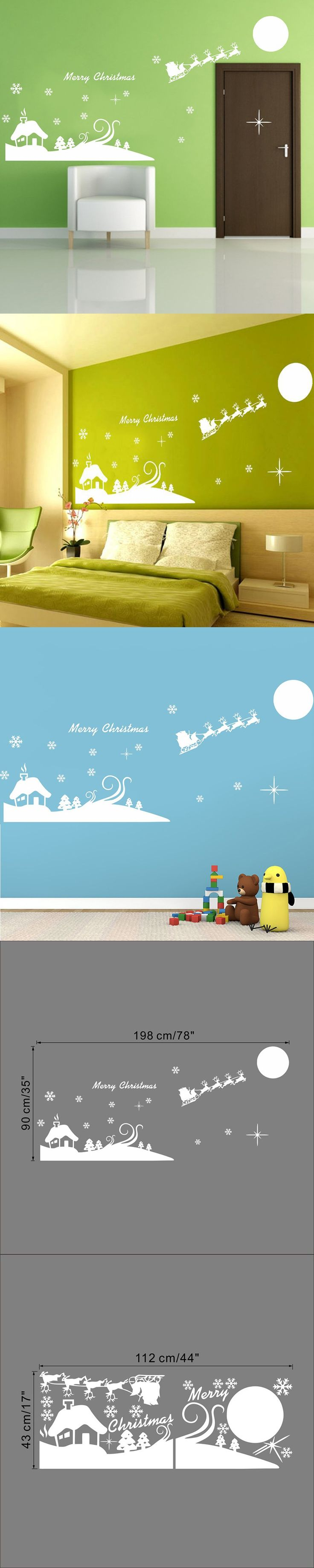 best 25 wall stickers for kids ideas on pinterest army room 198 90cm merry christmas vinyl deer wall stickers for kids room glass door window stickers home decor bedroom decals posters 51