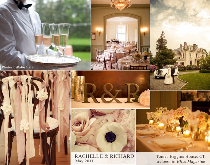 Blush and White Vintage Romance