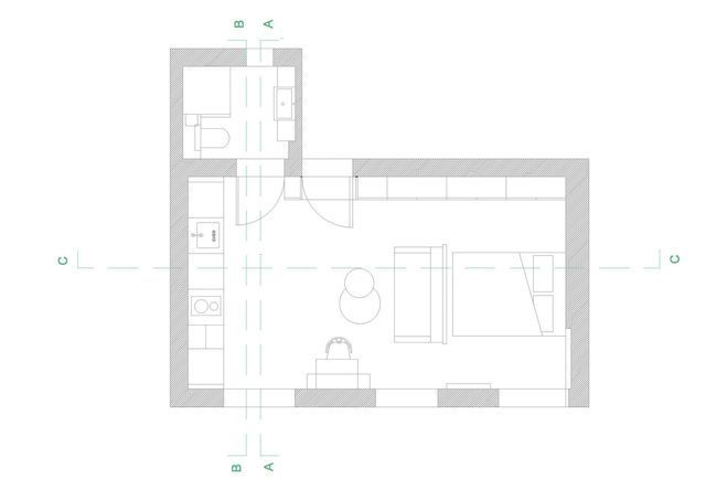 Best Basement Apartment Images On Pinterest Small Houses
