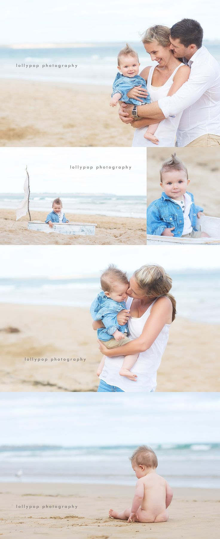 family and children's beach photography by lollypop photography