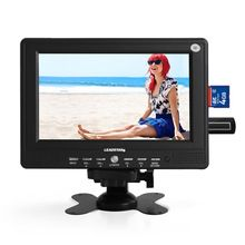 Fashion Small Portable 7inch HD TV LED Display 428*234 AV TV USB No Operating System Mini Wide Screen LCD Television For Outdoor(China (Mainland))