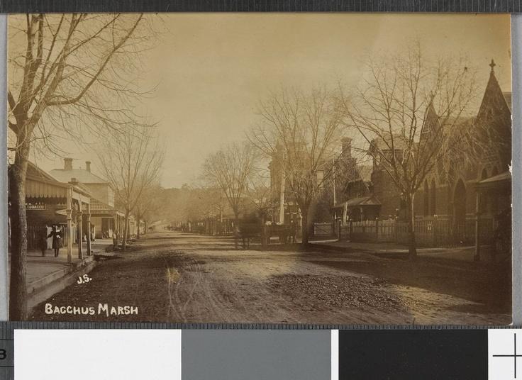 Main Street, Bacchus Marsh 1908