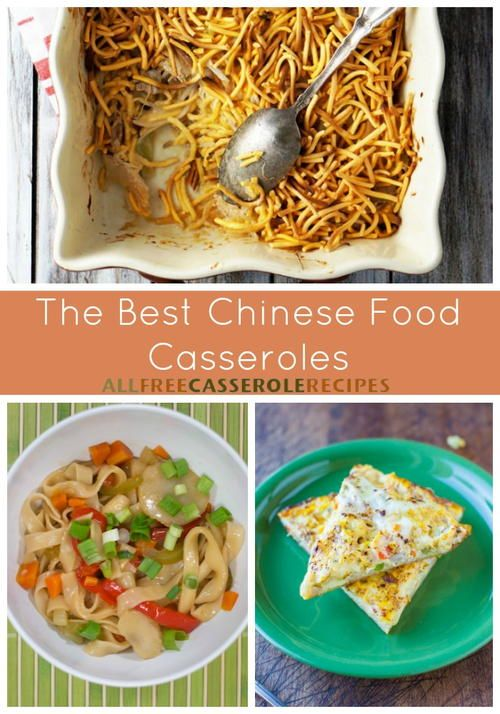 Best Chinese Food Casserole Recipes