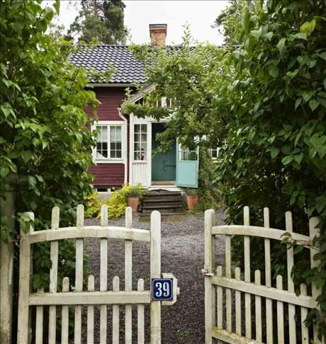 "A Swedish ""stuga"" or Summer House."