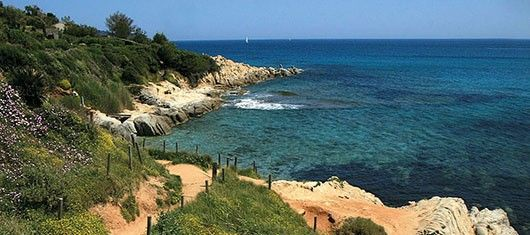 camping sur la côte var Caravan huren op strand zuid Frankrijk