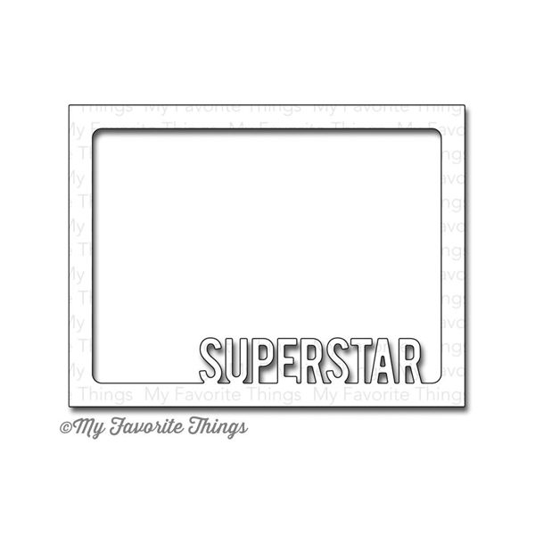 Die-Namics Superstar Photo Card Frame MFT467
