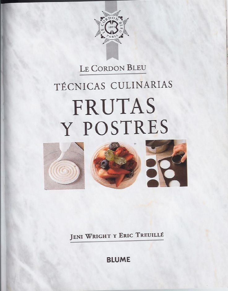 ISSUU - Frut y postr cordon bleu by PAMELA GONZALEZ