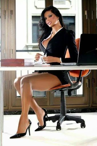Office babes Nude Photos 47