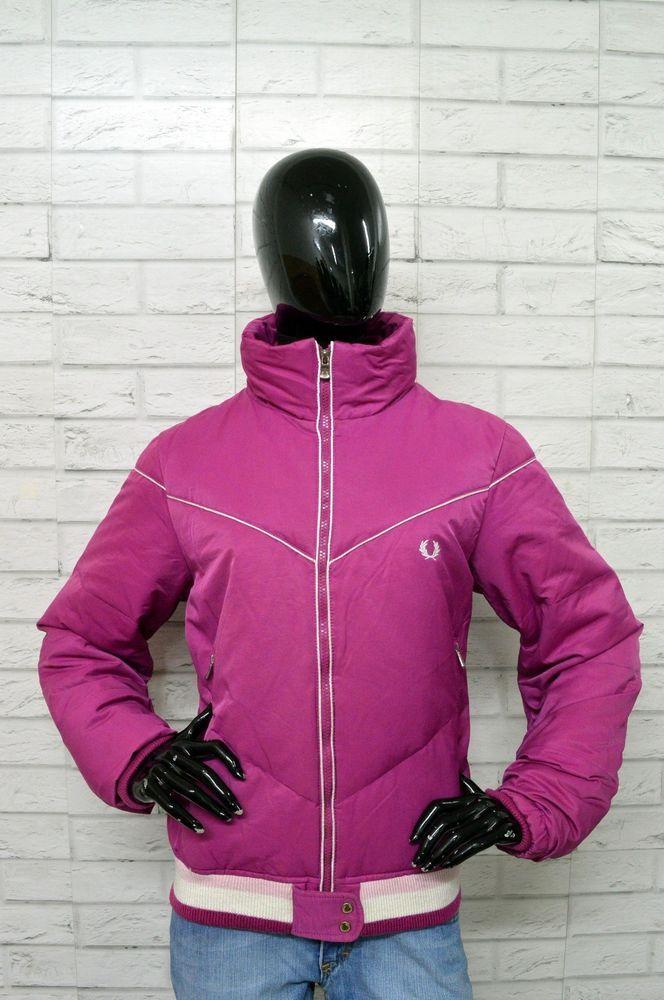 the best attitude 0d85b a2c3d Piumino FRED PERRY Donna Taglia XL Giubbotto Jacket Giubbino ...