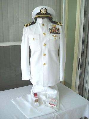 White Choker Uniform Used | eBay: Choker Uniforms, Navy Seals Uniforms ...