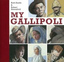 My Gallipoli, Ruth Starke & Robert Hannaford (Penguin Books Australia), winner of the Young People's History Prize, 2015. Held at the State Library of New South Wales.