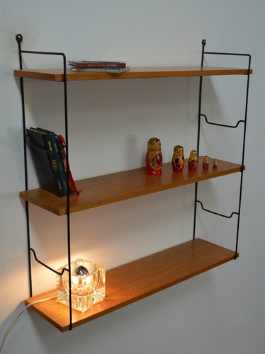 Tag re murale string regal ann es 60 vintage 180 euros furniture storage - Etagere string vintage ...
