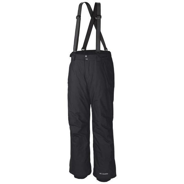 Columbia Men's Bugaboo Suspender Pant in Black